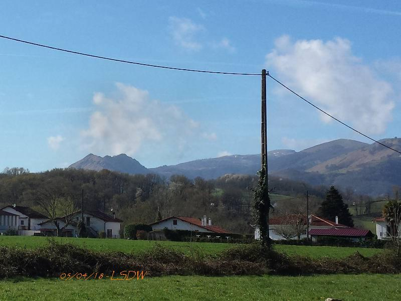Pays basque - 05/04/2018 - Volcano
